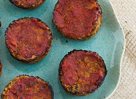 Mini Vegetarian Meatloaves | Recipe | Vegan Meatloaf, Vegans and Minis