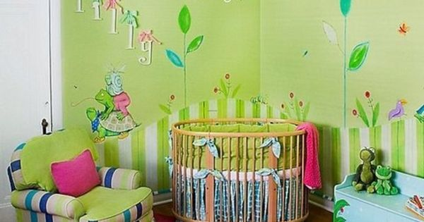 Baby nursery ideas baby nursery themes unisex babys for Decoracion hogares infantiles
