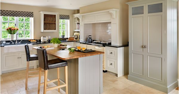 Harvey Jones Original Kitchen Handpainted In Farrow