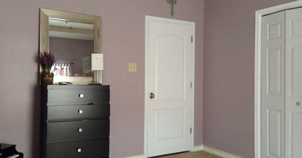 Girl Bedroom Color Twilight Mauve By Valspar Home Decor