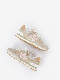 chaussure new balance femme beige