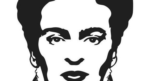 Imagenes De Frida Kahlo Para Imprimir: Resultado De Imagen Para Stencil Frida Kahlo Para Imprimir