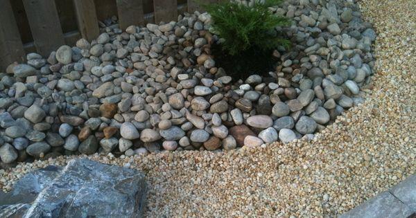 Japanese rock garden front yard home love pinterest for Landscaping rocks east bay