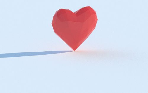valentine's day cinema 4d
