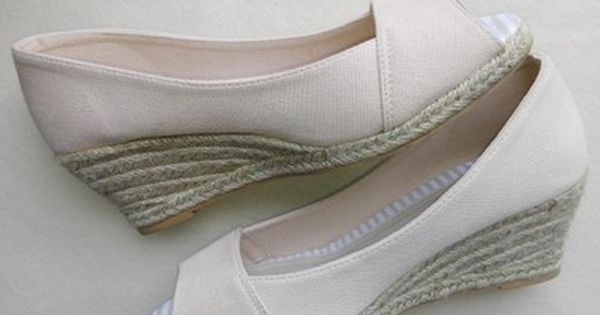 Fiore Espadryle Na Koturnie Roz 38 5 6901772749 Oficjalne Archiwum Allegro Wedding Shoes Wedge Espadrille Espadrilles