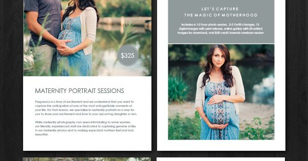 IDEAS _photography Minimalist Pricing Guide Magazine Pricing guide magazine template for photographers