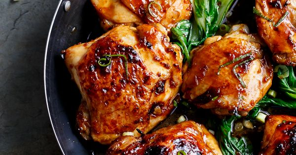 Simple Asian Glazed Chicken Thighs | Recipe