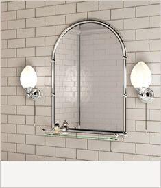 Lights Mirrors Accessories Victorian Bathroom Victorian Bathroom Mirrors Bathroom Mirror With Shelf
