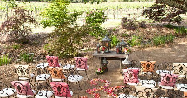 {Dream} garden wedding
