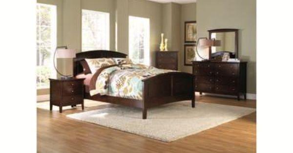 Metalindo Ii 5 Pc Queen Panel Bedroom Badcock More Bedroom Furniture Pinterest Bedrooms
