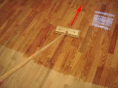Applying Polyurethane New Finish For An Old Hardwood Floor
