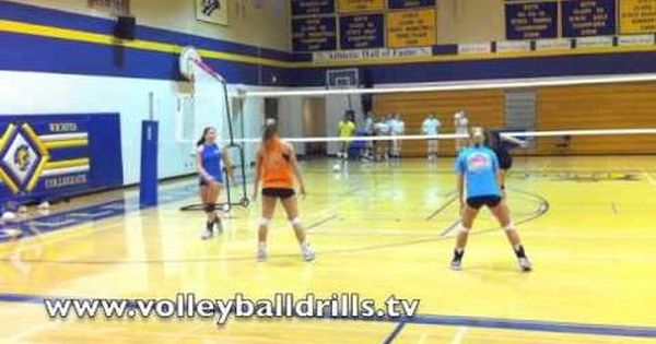 Volleyball Drill Ace To Replace With Images Volleyball Serving Drills Youth Volleyball Volleyball Practice