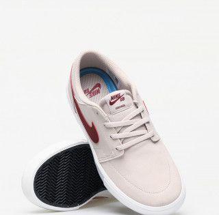 Buty Nike Sb Solarsoft Portmore Ii Desert Sand Team Red Summit White Black Nike Sb Portmore Nike