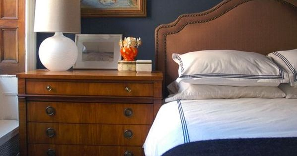 marvellous dark blue bedroom | 20 Marvelous Navy Blue Bedroom Ideas | Bedroom ideas, Navy ...