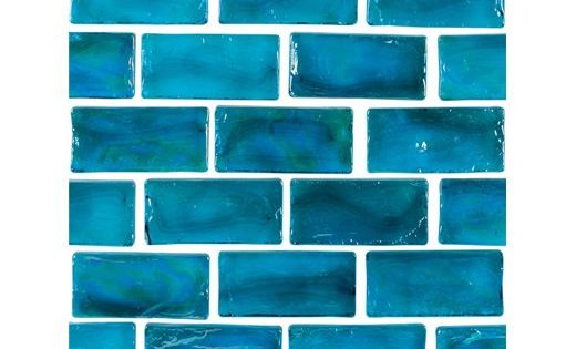 National Pool Tile Arctic 1x2 Glass Series Pool Tile Lagoon 1x2083 Pool Tile Glass Pool Tile Pool Designs