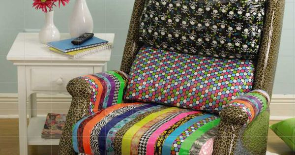Cover Furniture With Duck Tape Diy For The Home