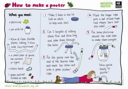 earth day how to make a pooter