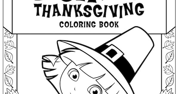 dora coloring pages thanksgiving mayflower - photo#10