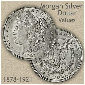 Uncirculated Morgan Silver Dollar Silver Dollar Value Silver Dollar Coin Value Silver Dollar Coin