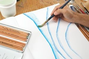 How To Use Watercolor Pencils Color Theory Mark Making And