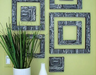 This is a DIY wall decor. It is art foam (from any