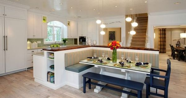 Kitchen Island With Built In Seating Home Decor