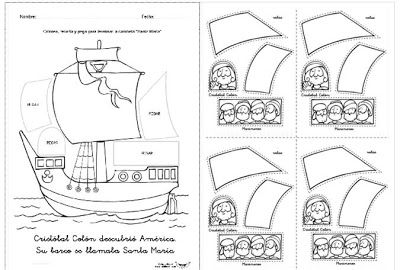 Proyecto Sobre Cristobal Colon Primertic Viajes De Cristobal Colon Cristobal Colon Dia De La Hispanidad