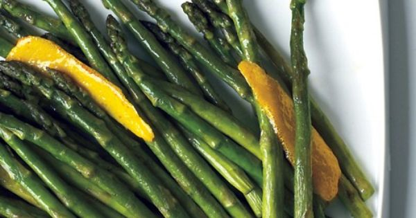 Sauteed Asparagus with Lemon - Try this side with seared steak, roasted