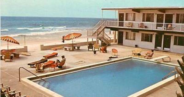 Postcard Of The Ebb Tide Motel Panama City Beach Panama City Panama Panama City Beach Panama City Beach Fl