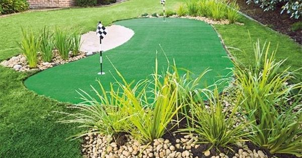How to make a putting green in your backyard better Yahoo better homes and gardens
