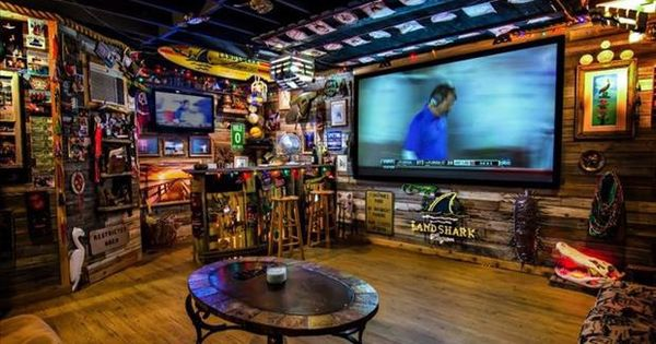 why not remodel your garage to look like a man cave see