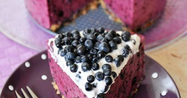 No-Bake Blueberry Cheesecake with Graham Cracker Crust | Recipe ...