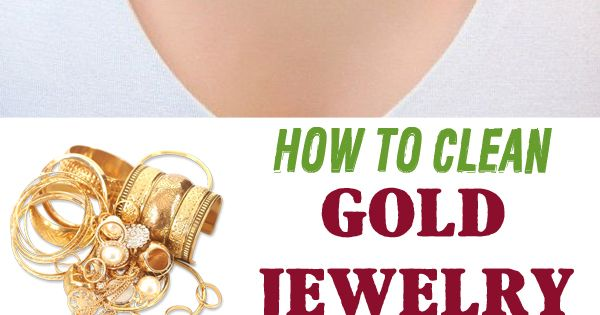 Clean Gold Jewelry, Cleaning