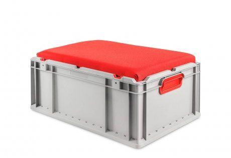 Eurobox Nextgen Seat Box Griffe Geschlossen 64 22 Sitzkissen