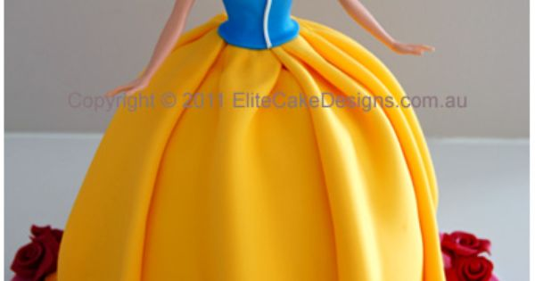 Snow White Princess Birthday Cake, Walt Disney Girls Birthday Cakes, Birthday Cakes