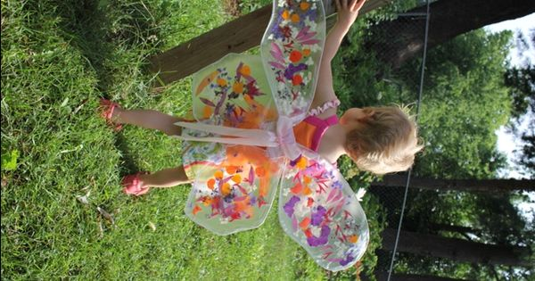 How to Make Flower Fairy Wings by artfulparent DIY Fairy_Wings artfulparent