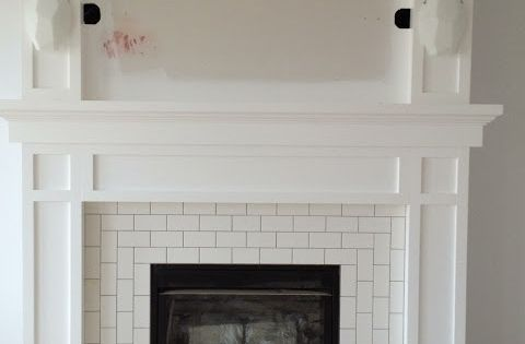 Pinterest Subway Tile Fireplace Fireplaces And White Subway Tiles