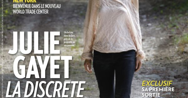 cette semaine dans paris match julie gayet la discr te match covers pinterest paris. Black Bedroom Furniture Sets. Home Design Ideas