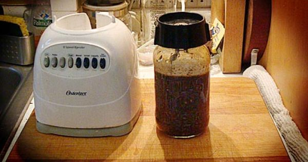 Maybe this would be quieter than my magic bullet. -- Make a