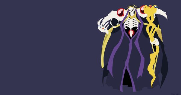 Anime Overlord Ainz Ooal Gown Wallpaper Wallpaper Backgrounds Wallpaper Background Images