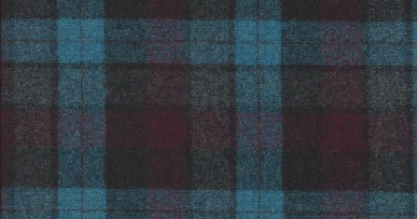 Pendleton turquoise purple plaid wool fabric 59 wide for Space mountain fabric