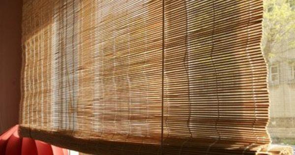 Relooker Un Store En Bambou Le Store Brut Store Bambou Store