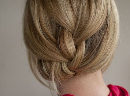#hair, tucked under french braid, hairstyle braid