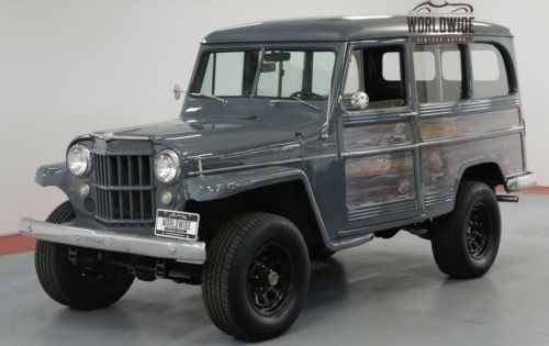 1957 Jeep Willys Restored Rare Vintage 4x4 Ps V8 Old Trucks For Sale Vintage Classic And Old Trucks Oldtruc Willys Wagon Willys Jeep Classic Cars Trucks