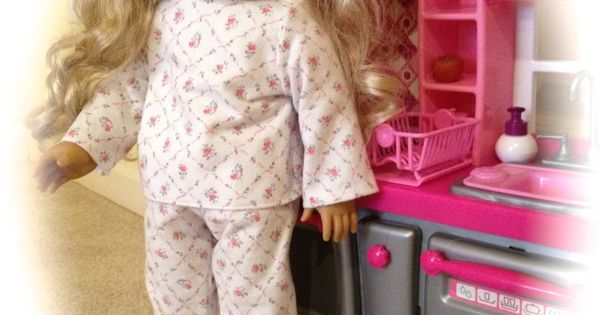 All Things With Purpose: American Girl Doll PJs {FREE} Pattern