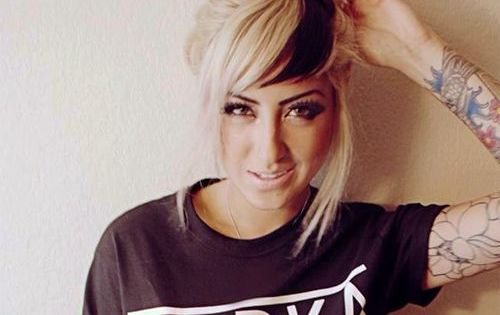 12 Edgy Chic Black And Blonde Hairstyles Blonde Bun Bun Hairstyle And Blondes