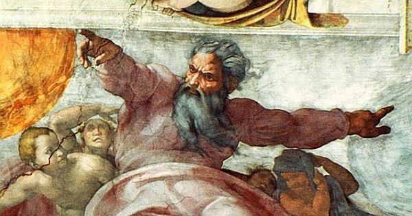 Sistine Chapel Ceiling   Image: Michelangelo (Buonarroti ...