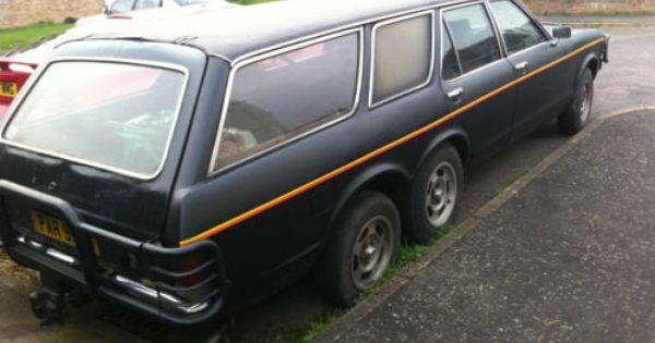 Ford Granada Mk1 Limousine Estate Twin Axle 6 Wheels Ford