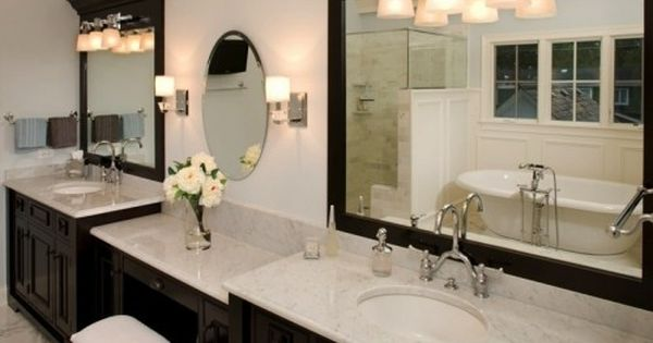Oakley Home Builders Beautiful Bathroom Vanity Bathroom Remodel Master White Vanity Bathroom