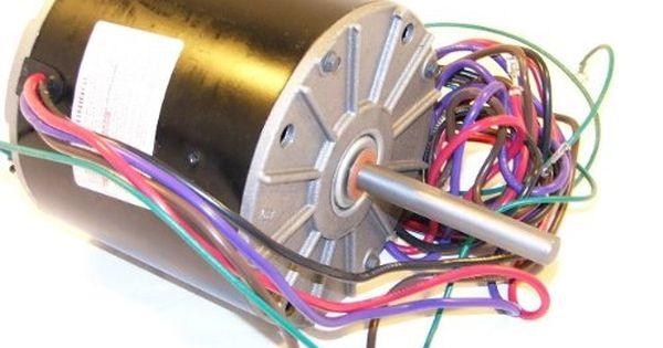 024 25962 700 York 1 4 Hp 208 230v 1 Ph 850 Rpm 2 Speed Cwle Frame 48y Condenser Fan Motor Replacement Oem Upgraded York Fan Motor Http Www Aircondit